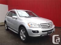 Low KMS and No Accidents! Mercedes-Benz ML350 is loaded