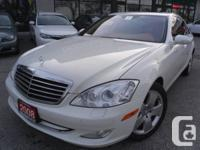 AUTOMATIC, WHITE OVER BROWN LEATHER INTERIOR,S450