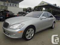 2008 Mercedes-Benz S Class S450 4MATIC Leather, wood for sale  British Columbia