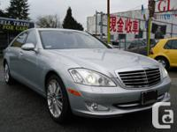 year : 2008  make : MERCEDES BENZ  model : S550 4MATIC for sale  British Columbia