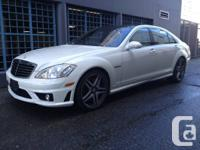 For sale is a 2008 Mercedes Benz S63  The true