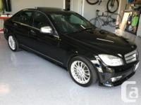 Make Mercedes-Benz Model C230 Colour Obsidan Black kms