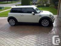 Mini Cooper S for sale in great shape, loaded with