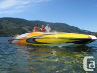 2008 28' Magic Deck watercraft as well as tri-axle