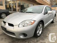 Make Mitsubishi Model Eclipse Year 2008 Colour silver