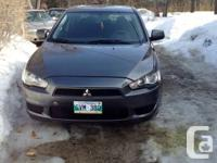 selling my 2008 Mitsubishi lancer DE for 7500 o.b.o ,