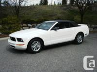 2008 Ford Mustang Convertible, 4.0 L SOHC V-6 engine