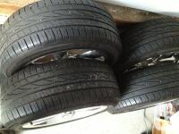 Selling my extra set of wheels and tires. Tires are