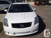 Make Nissan Model Sentra Year 2008 Colour white kms