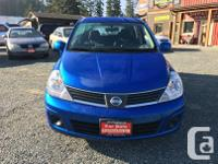 Make Nissan Model Versa Year 2008 Colour Blue kms