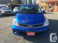 Make Nissan Model Versa Year 2008 Colour Blue kms