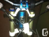 Custom built Norco Aline Park Edition M/L Frame Fully