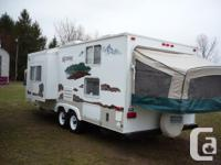 Hi, we are looking for a Hybrid Travel Trailer with