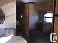 This trailer is bonded aluminum structure and has a