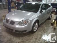 Make. Pontiac. Version. G5. Year. 2008. Colour.