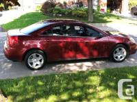 Make Pontiac Model G6 Year 2008 Colour Red kms 107000