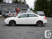 Make Pontiac Model G6 Year 2008 Colour White kms