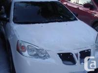 Make Pontiac Model G6 Year 2008 Colour off white kms