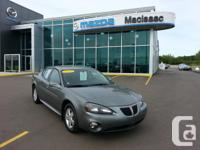 Vehicle Make: Pontiac Model: Grand Prix Year: 2008
