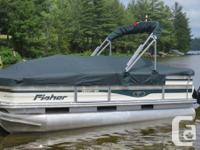 Offer For Sale- 2008 FISHER LIBERTY 180 PONTOON