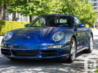 Make Porsche Model 911 Carrera Year 2008 Colour Blue