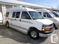 Here is a great used Roadtrek van that seats 7 and