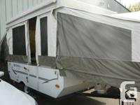 OFFERED FOR SALE IS A 2008 ROCKWOOD TENT TRAILER IT HAS