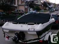 2008 Sea Ray 205 (21ft) Bowrider with Tower, Sport