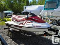 2008 Seadoo GTi 130 Package with Trailer and Lift Don't