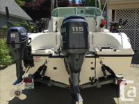 Pristine condition - garage kept 115 HP Yamaha 4 stroke