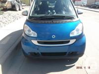 Make Smart Model FORTWO Year 2008 Colour blue kms