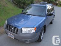 Make Subaru Model Forester Year 2008 Colour Blue kms