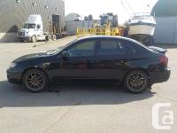 Make Subaru Model Impreza Year 2008 Colour Black kms