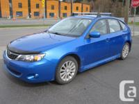 Make Subaru Model Impreza Year 2008 Colour BLUE Trans
