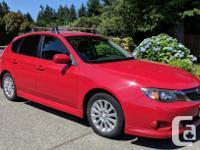 Make Subaru Model Impreza Year 2008 Colour Red kms