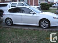 Make Subaru Year 2008 Colour White Trans Manual kms