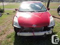 Make Toyota Model Prius Year 2008 Colour RED kms