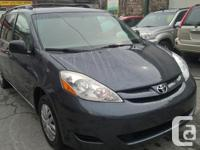 Make Toyota Model Sienna Year 2008 Colour BLUE kms