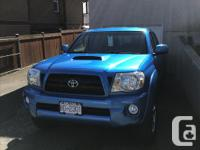 Make Toyota Model Tacoma Year 2008 Colour Blue kms