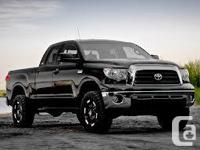 Make Toyota Model Tundra Year 2008 Colour Black kms