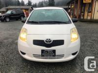 Make Toyota Model Yaris Year 2008 Colour White kms