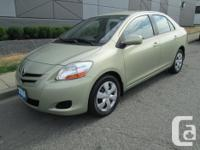 Make Toyota Model Yaris Year 2008 Colour Green kms