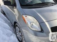 Make Toyota Model Yaris Year 2008 Colour Silver kms