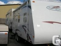 Lots of room in this trailer with slide, sofa, dinette,