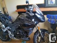Make Triumph Model Tiger Year 2008 kms 8000 8000 k's