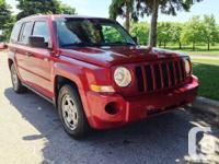 2008 Jeep Patriot, 4x4, 4cyl, no crashes, Car, 135000