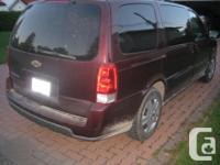 Make Chevrolet Model Uplander Colour BURGANDY Trans