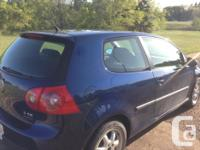 Make Volkswagen Model Rabbit Year 2008 Colour Blue kms for sale  Alberta