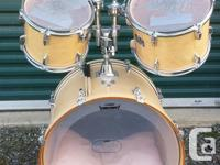 2008 Yamaha stage custom 5 piece drum set. Its in