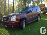 2008 Yukon SLT 4x4 V8 Automatic 121,000 km Cruise